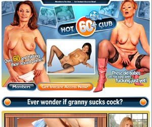 Hot 60 Club - Over 60 and Hitting Their Sexual Prime